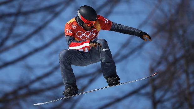 Austrian snowboarder left with broken neck after sickening Winter Olympics crash