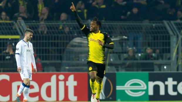 Michy Batshuayi not thinking about future 'at all' amid BVB heroics