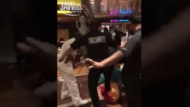 Cruise ship bloodbath 'ruins couple's proposal FOREVER' as brawling thugs cause mayhem