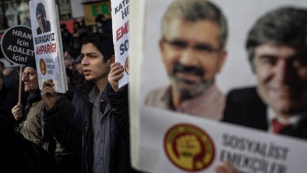 Turkish court sentences six journalists to life in prison