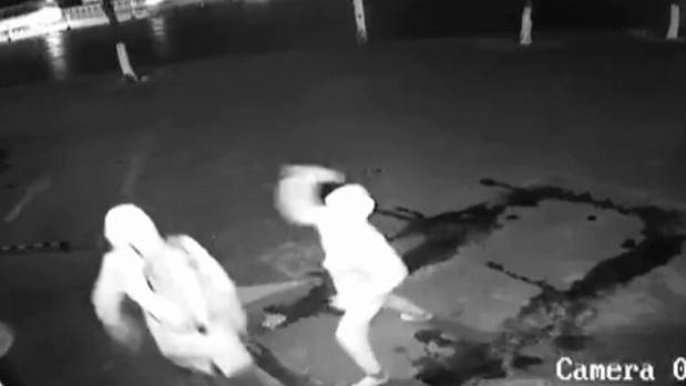 Burglar accidentally knocks accomplice out with brick