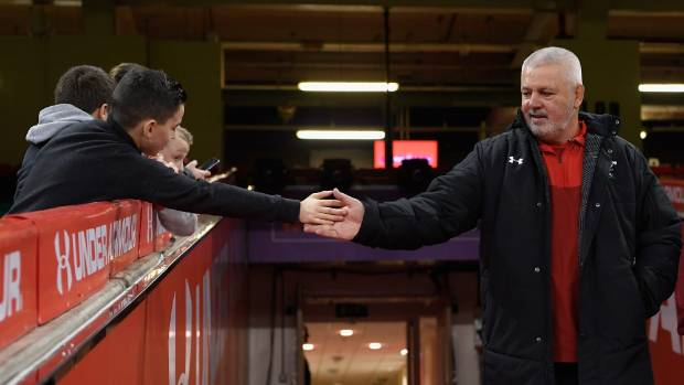Warren Gatland is set to bring up 100 games as Wales coach next weekend