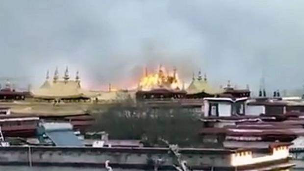 Huge fire at Tibet's revered Jokhang temple sparks fears of its future