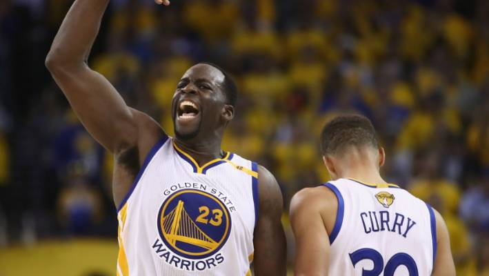Draymond Green is the key defensive powerhouse for the NBA champion Golden  State Warriors. 7cbfa0488