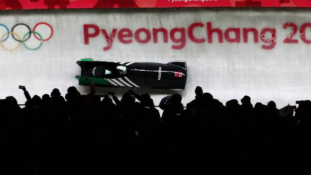 Bobsled Team Makes First Olympic Appearance