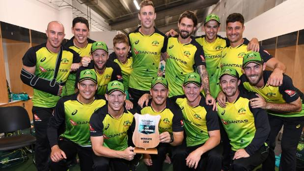 unstoppable australia beat the black caps to win the t20 tri series at eden park. Black Bedroom Furniture Sets. Home Design Ideas