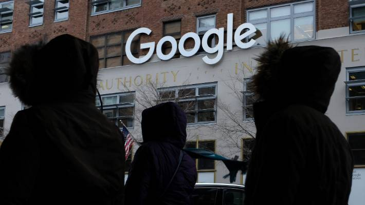 Google workers stage walkout over company's handling of sexual harassment
