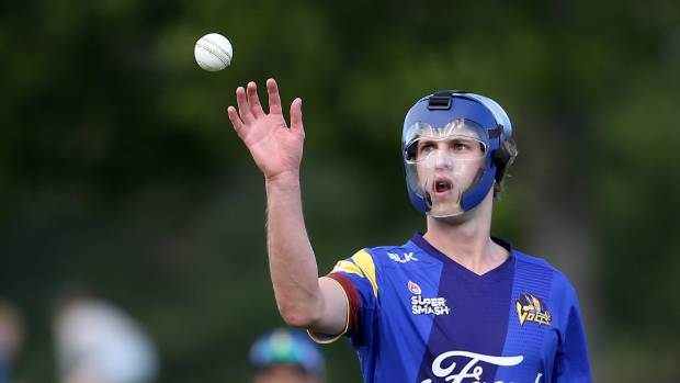 Bowler heads it for six