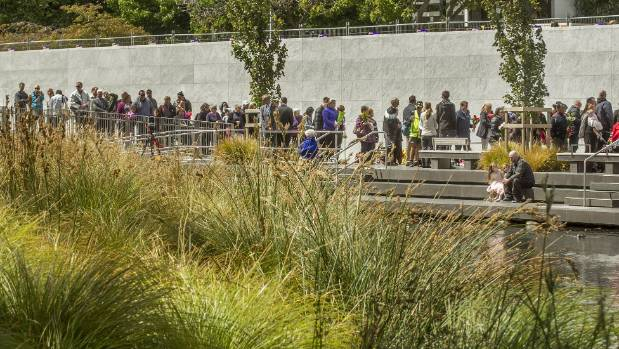 Christchurch earthquake memorial service: 'NZ stands with Christchurch'
