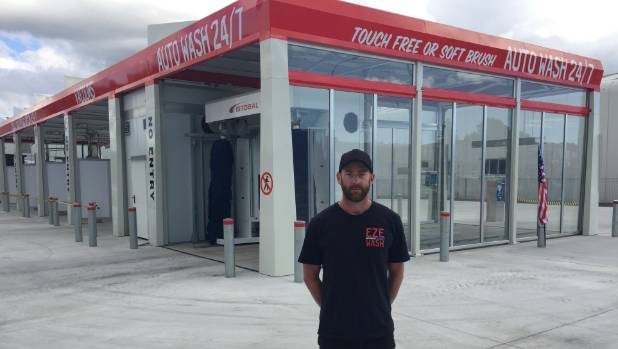 New plymouth car wash left high and dry by water crisis stuff eze wash self serve car wash manager brent asquith cannot operate the devon rd business due solutioingenieria Gallery