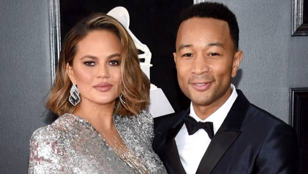 Chrissy Teigen Celebrates Surprise Baby Shower With Her Best Friends