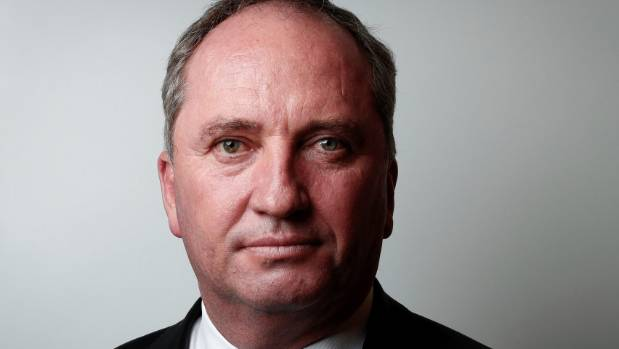 Barnaby Joyce says he had 'no choice' but to reveal paternity doubts