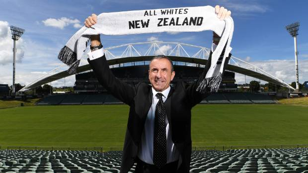 New Zealand announce Schmid as new coach