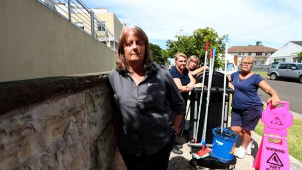 Spotless cleaners in Australia sacked without redundancy, shown jobs on offer in New Zealand
