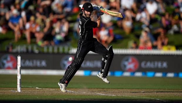 England 285-8 batting first against New Zealand in Hamilton ODI