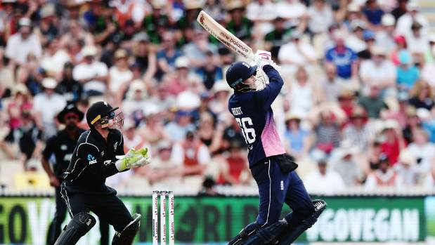 New Zealand beat England by three wickets in first ODI