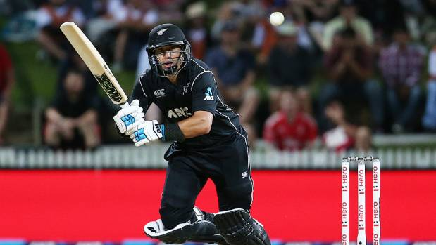 Taylor steers NZ to 3-wicket win over England in 1st ODI