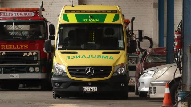 Road spikes used to stop stolen ambulance in Dunedin