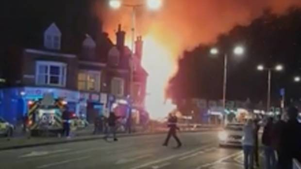 Five people killed after explosion and building collapse in Leicester, UK