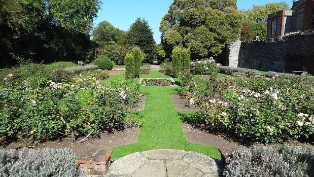 Eltham Palace garden.