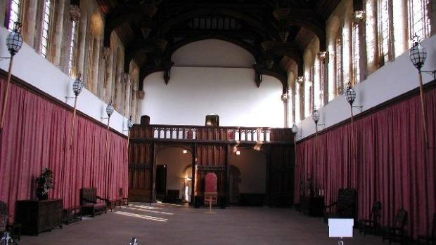 The Great Hall at Eltham Palace.