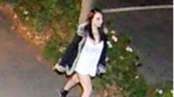 A private security camera captured the last known images of Renee Duckmanton alive walking down Peterborough St, on May 14, 2016. (File photo)