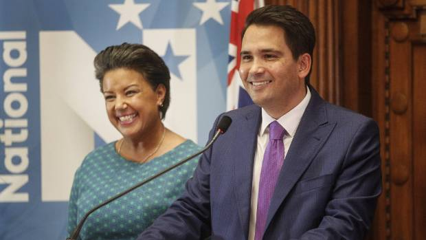 Proud westie Simon Bridges National leader