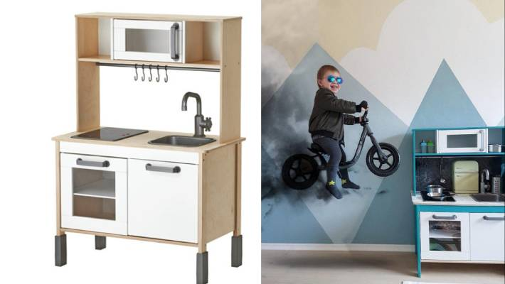 Keuken Kids Ikea : Parents are making over ikeas play kitchen and its awesome stuff