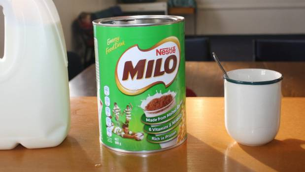 Milo washes off milk-powered health rating