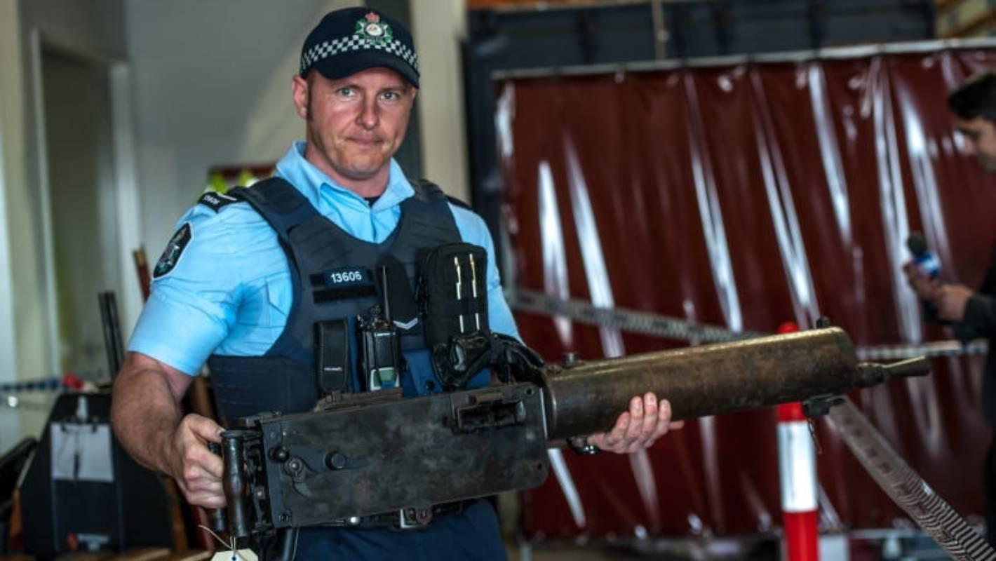 Australian Amnesty Nets 57,000 Firearms And A Rocket Launcher  Stuffconz-1297