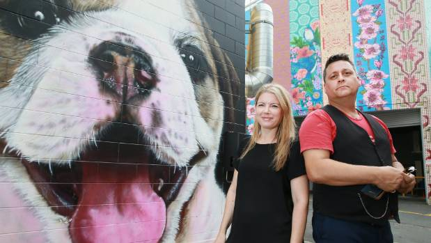 Boon Hamilton Street Art Festival organisers Charlotte Isaac and Phillip Guthrie are looking forward to this year's ...