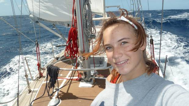 Laura Dekker sailed the world by herself at age 14. (File photo).