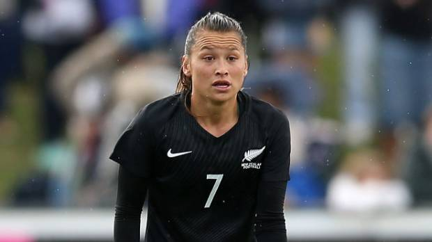 Football Ferns captain Ali Riley is the highest rated New Zealand player on Fifa 19.