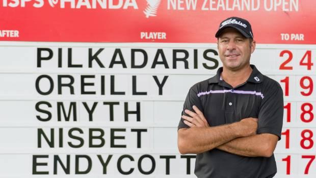 Nisbet overhauls Pilkadaris to win New Zealand Open