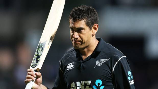 Taylor leads fightback for Black Caps