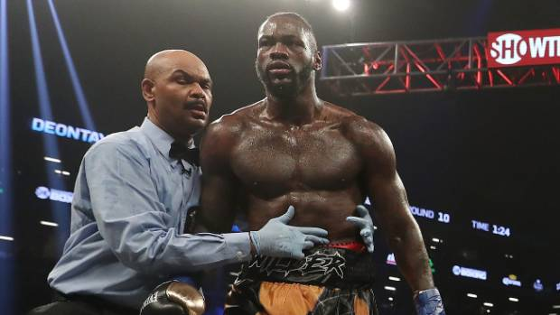 Nobody was more shocked by Deontay Wilder's TKO than the ring girls