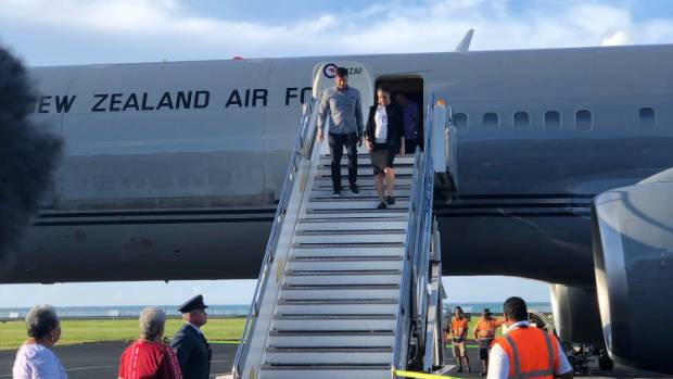 Ardern turns her attention to the Pacific