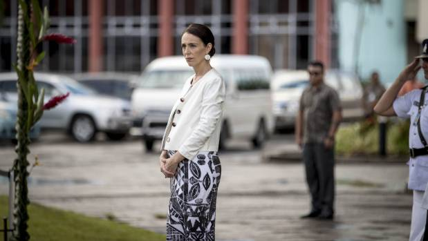 Jacinda Ardern touches down in Samoa for Pacific forum