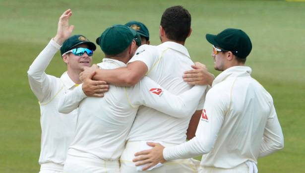 Australia one wicket away from beating South Africa in Durban