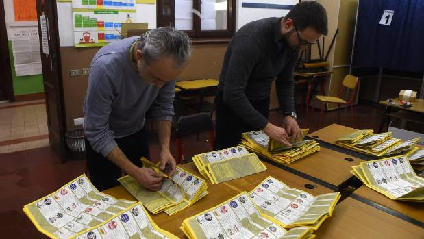 Populist movement makes inroads in Italian elections