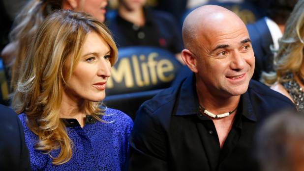 Andre Agassi and wife Steffi Graf are both investors in Viagogo.
