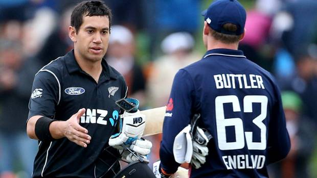 Taylor 181 leads New Zealand to ODI victory, levels England series