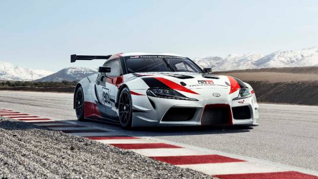 Super Sportscar Back Again   The Gazoo Racing Supra Concept, On Display At  Geneva Ahead