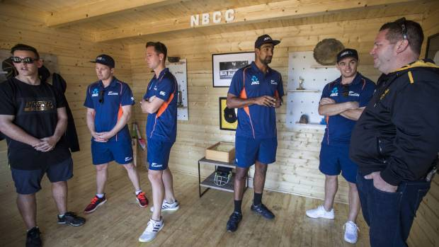 Black Caps players Henry Nicholls, Matt Henry, Ish Sodhi and Tom Latham came along to open the new New Brighton Cricket ...