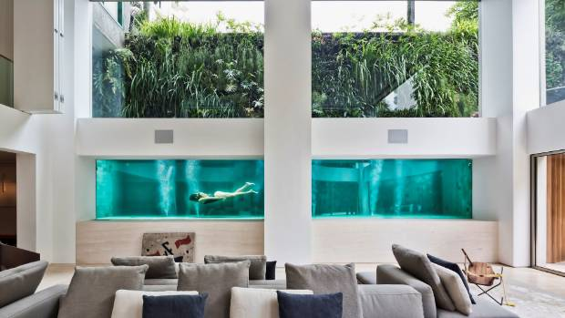 A Renovation Made This See Through Pool The Centerpiece Of This Art Loveru0027s  São Paulo