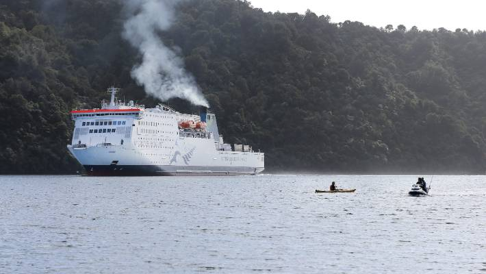 Cook Strait ferry Kaitaki, which is also nearing the end of its life.