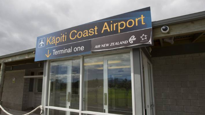 The airport terminal at Paraparaumu, which will have no Air NZ flights to or from Auckland from April 3.