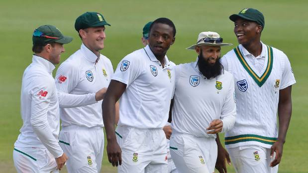 Kagiso Rabada starred for South Africa on day one of the second test against Australia