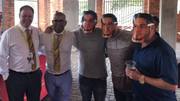 David Warner: Cricket South Africa apologises over Sonny Bill Williams masks