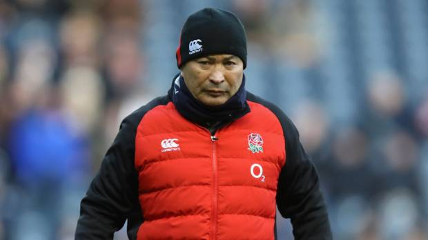 Men fined for hurling insults at Eddie Jones